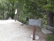 Winter Creek trail junction at Toll Road