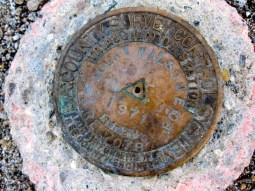 Mt Wilson USGS benchmark
