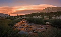 Tyndall Creek at Sunset