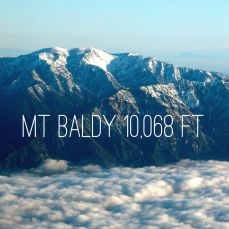 Mt San Antonio -- aka Mt Baldy