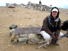 Joan at the summit