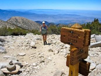 Nearing the summit of San Gorgonio