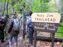 Holy Jim Trailhead