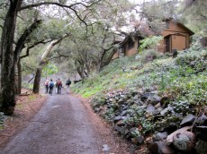 Cabins in Holy Jim Canyon