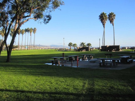 Picnic areas at Doheny