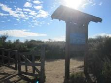 Gate at Moro Ridge