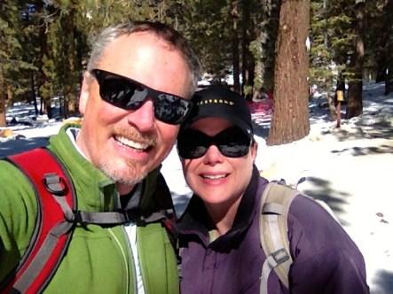 We loved snowshoeing!