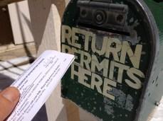 Return Permits Here