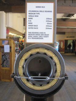 Tram bearings display
