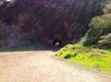 Heading to Bronson Cave