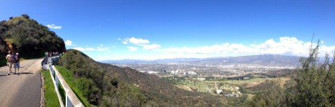 Panorama of Forest Lawn