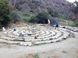 Runyon Canyon Peace Spiral