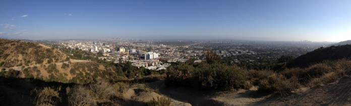 Typical Los Angeles panorama