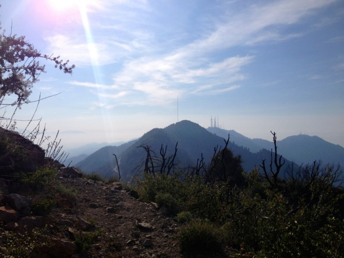 View towards Mt Wilson