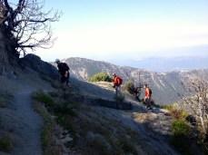 Climbing San Gabriel Peak
