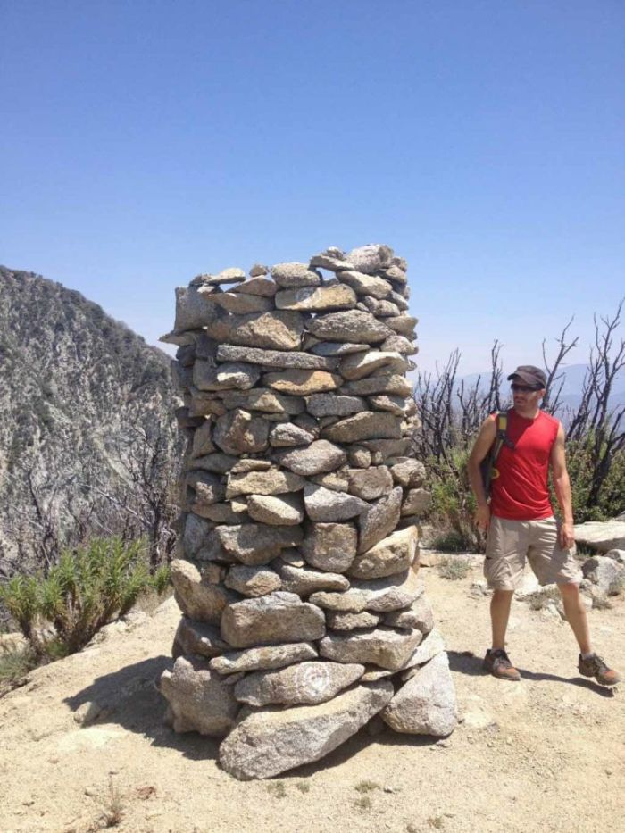 Cairn on Mt Markham