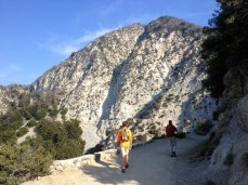 Hiking San Gabriel Peak