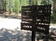 17.5 miles to Tuolumne Meadows