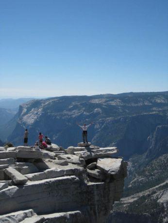 Jeffrey atop Half Dome
