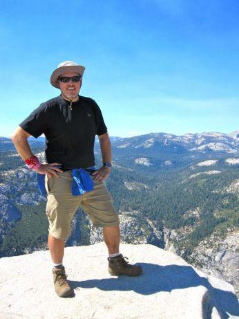 Jeff atop Half Dome