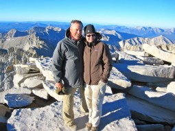 Jeff & Joan atop Mount Whitney