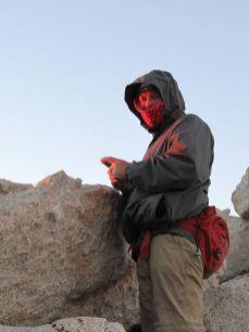 SoCal Hiker at First Light
