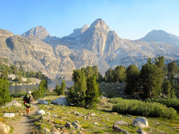 Rae Lakes and the Painted Lady