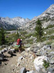 Heading down Woods Creek
