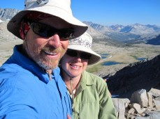 Jeff and Joan on Mather Pass