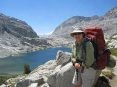 Joan at Palisade Lake