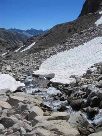 Headwaters of the King River
