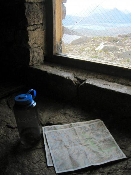 Inside Muir Hut