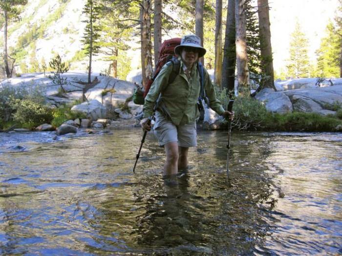 Joan Crossing Bear Creek