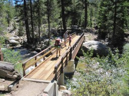 Bridge over Mono Creek
