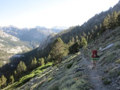 The Trail Descends 1000 Feet in One Mile