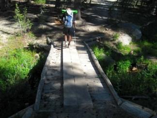 Bridge at Crater Creek
