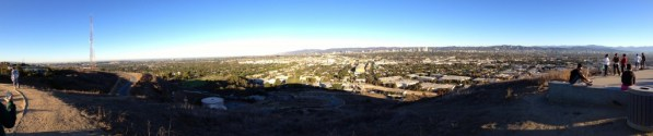 Baldwin Hills Outlook Panorama
