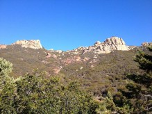 Sandstone Peak from Circle X Ranch