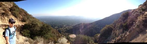 Panorama from the Sam Merrill Trail