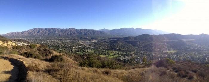Another San Gabriel Mountain Panorama