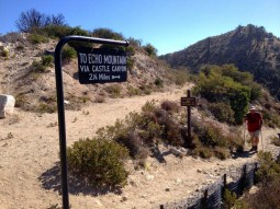 Top of the Castle Canyon Trail