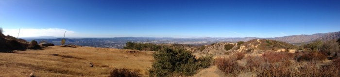 Panorama at the Top of the Vital Link Trail
