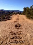 Ridgeline fire road