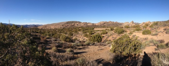Vasquez Rocks panorama