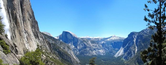 Yosemite Valley from Upper Yosemite Falls trail