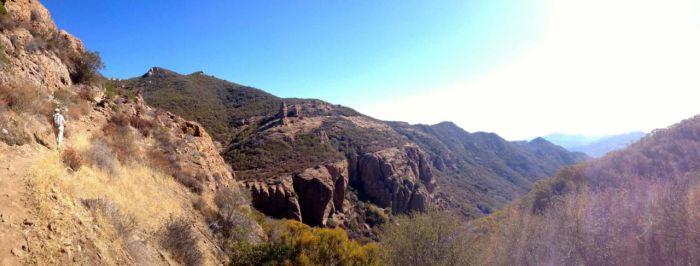 Balancing Rock near Sandstone Peak