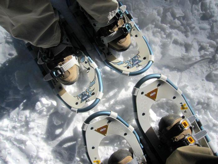 Snowshoeing at San Jacinto