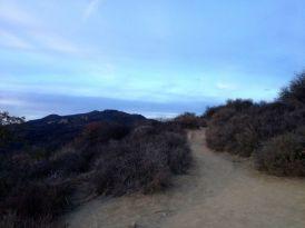 Dusk on Temescal Ridge