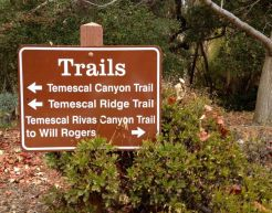 Temescal Canyon Trails