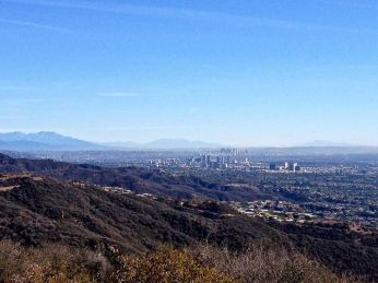 Los Angeles from Parker Mesa Overlook